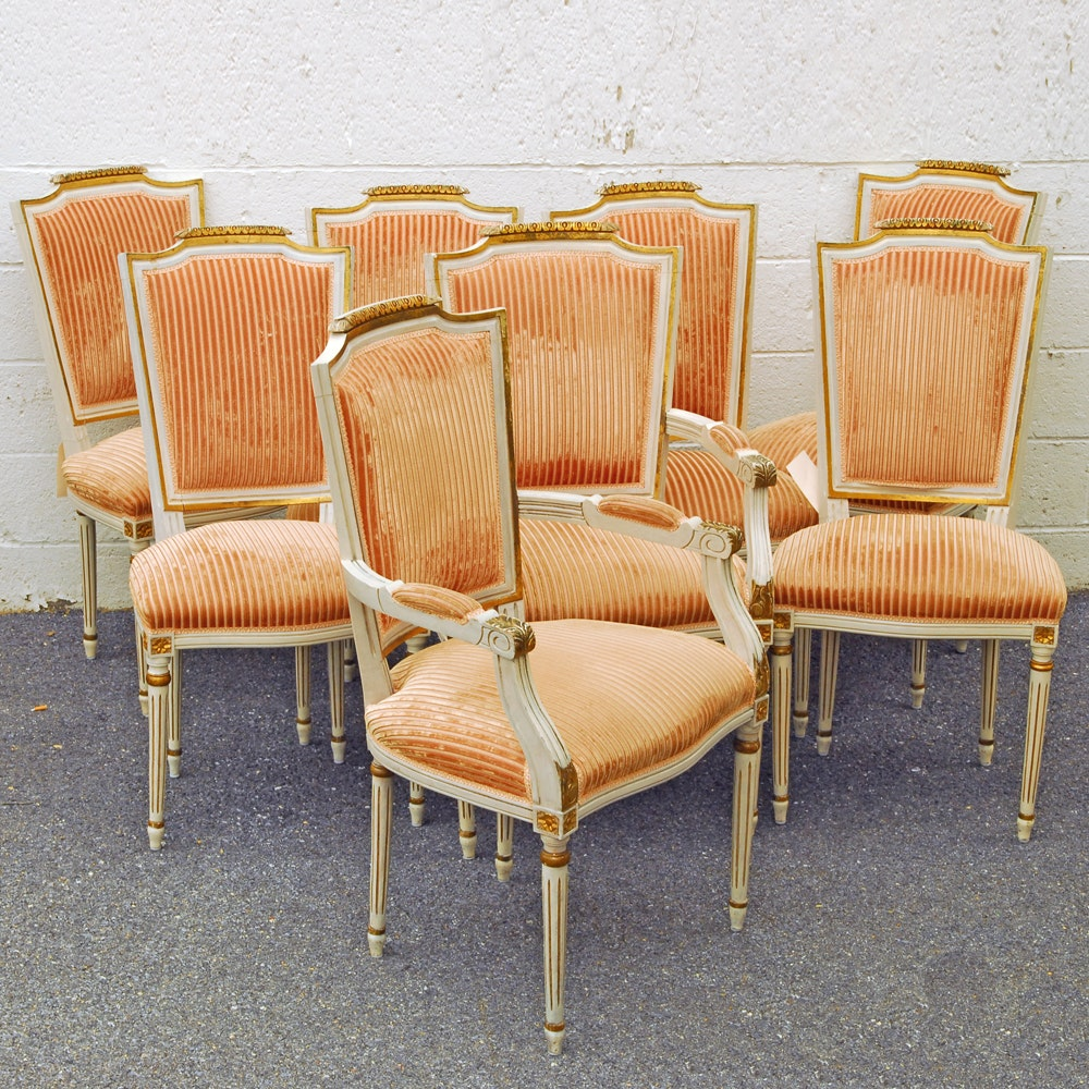 Vintage Louis XVI Style Dining Chairs