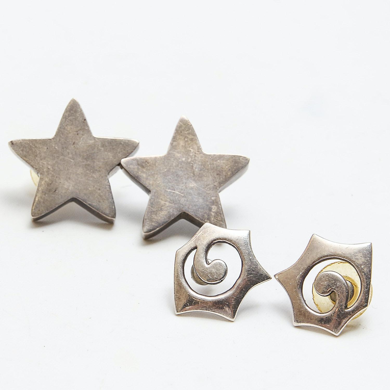 Signed Sterling Earrings