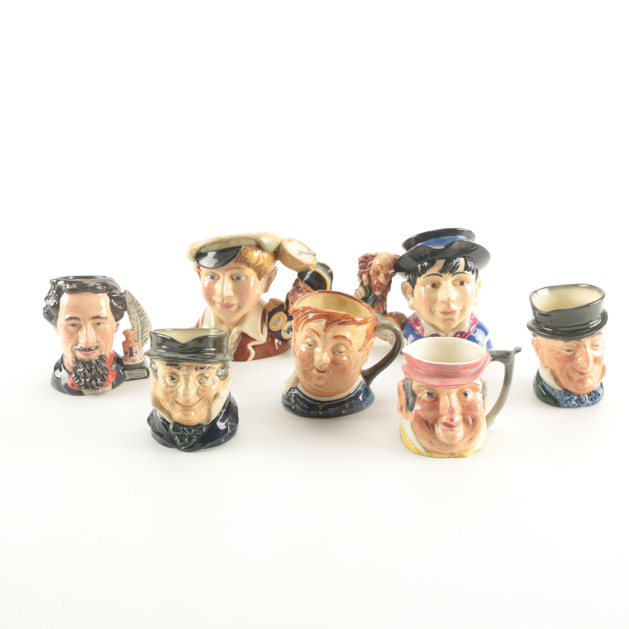 Royal Doulton Toby Jugs of Charles Dickens Characters