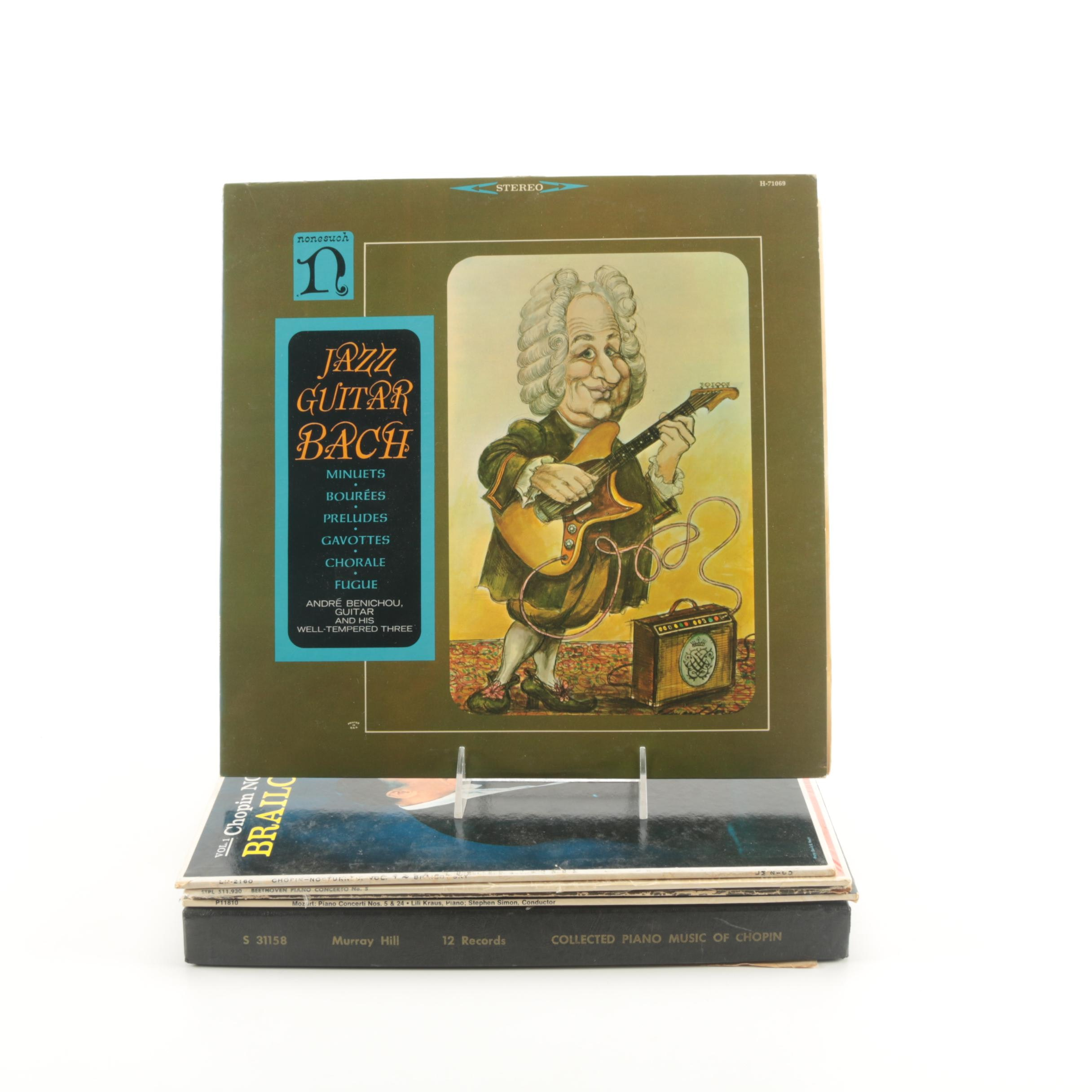 Chopin Box Set and Other Classical Theme LPs
