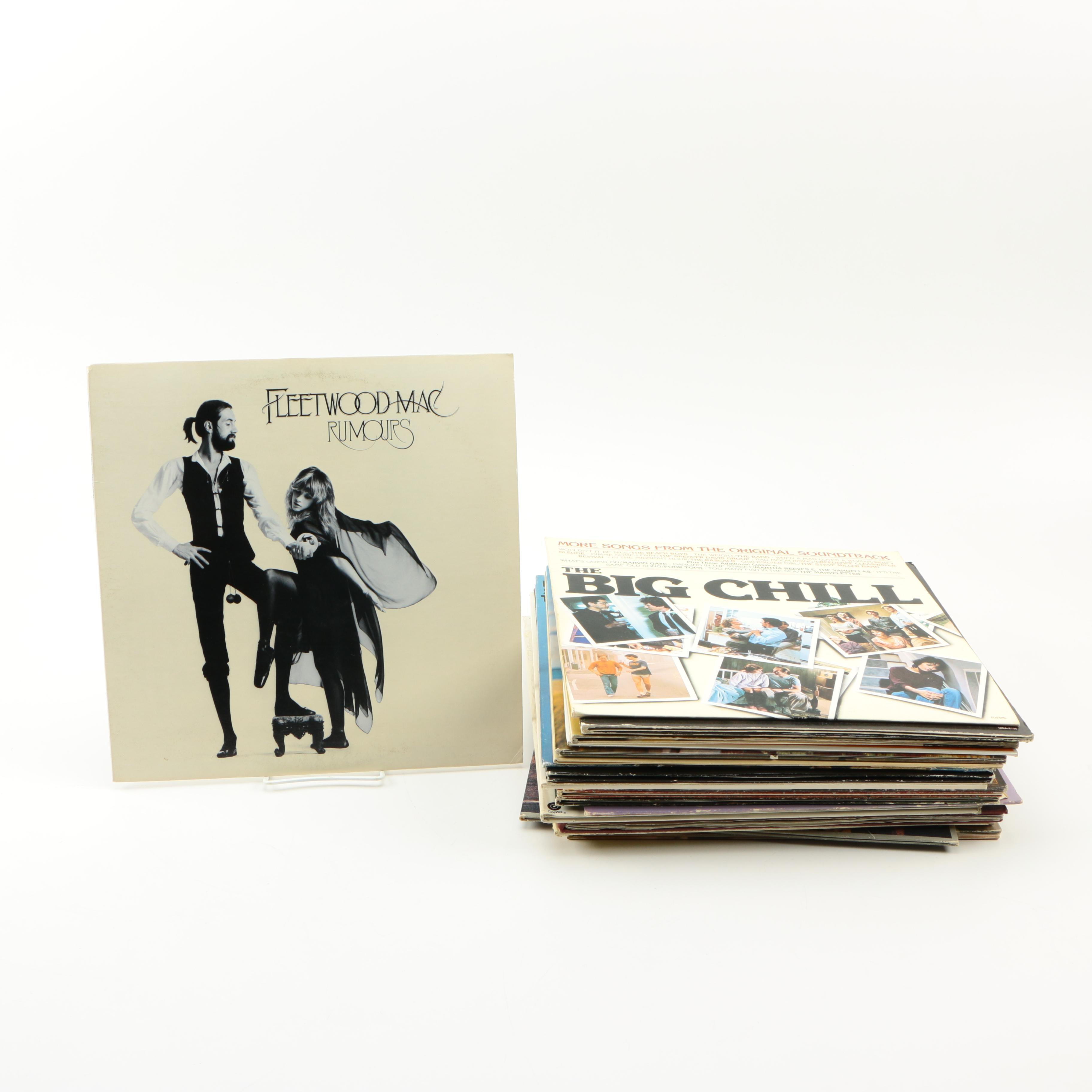 Fleetwood Mac, Paul Simon and Other Rock/Pop LPs