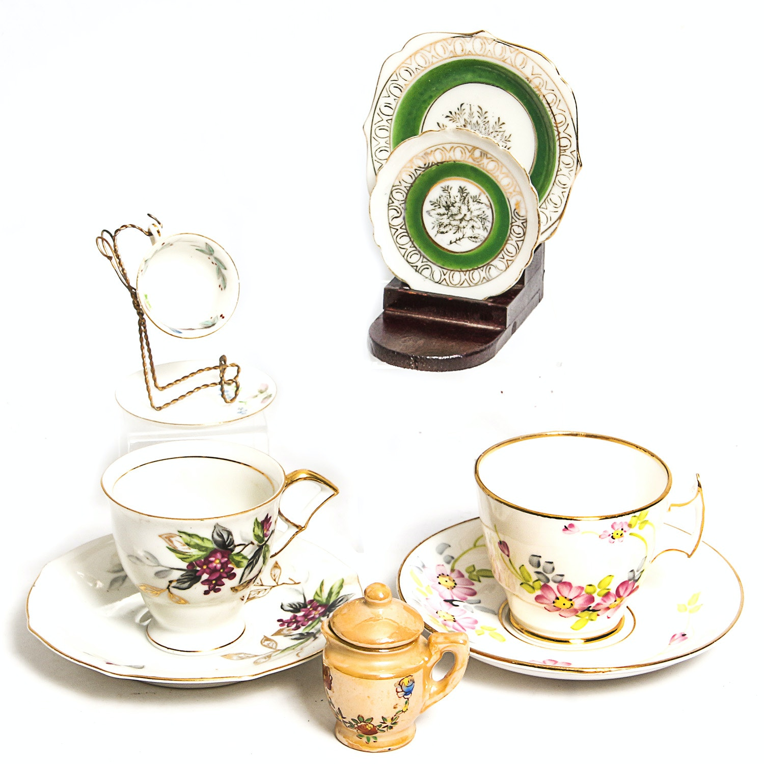 Collection of Miniature China and Tea Cup Sets