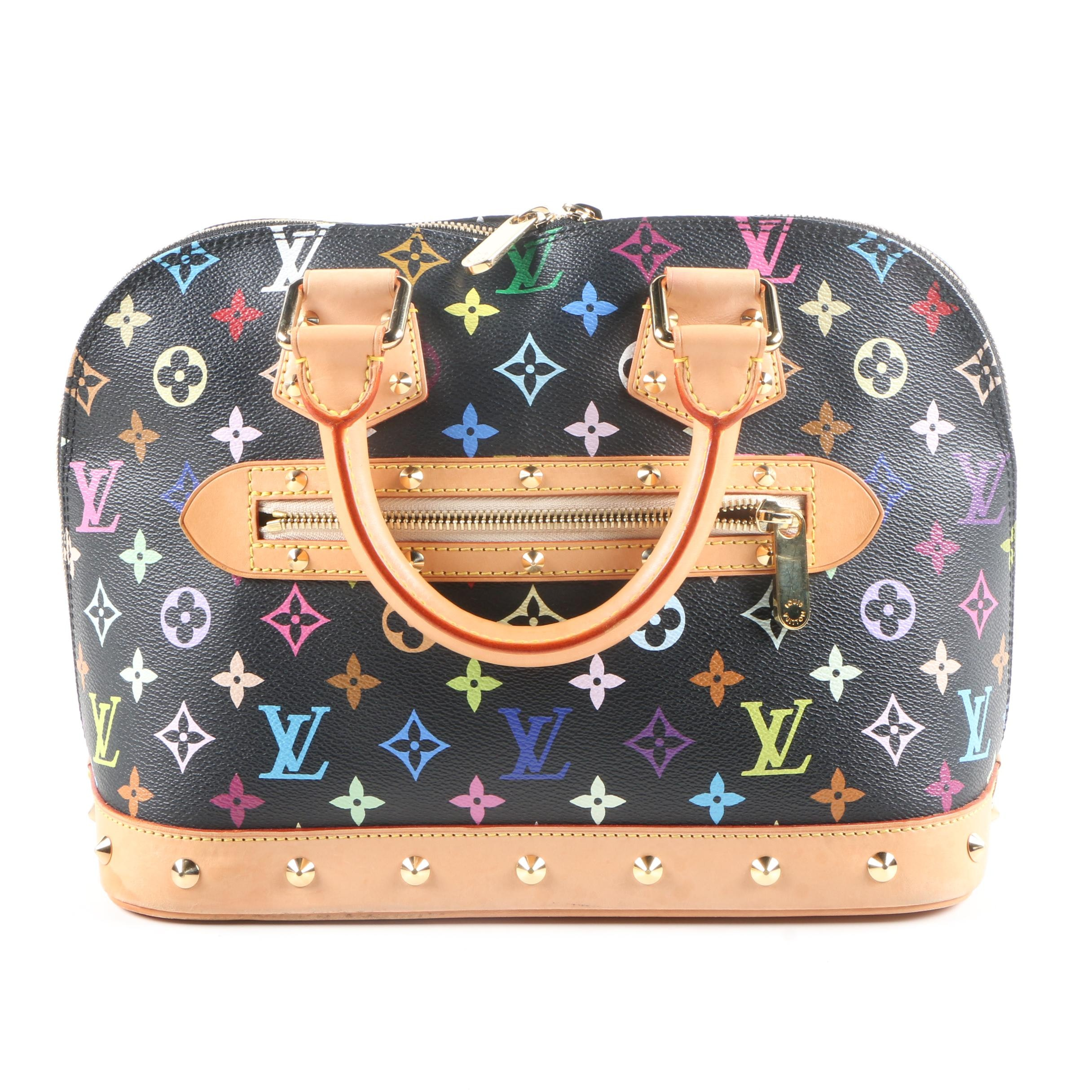 Louis Vuitton Multicolore Monogram Alma Satchel