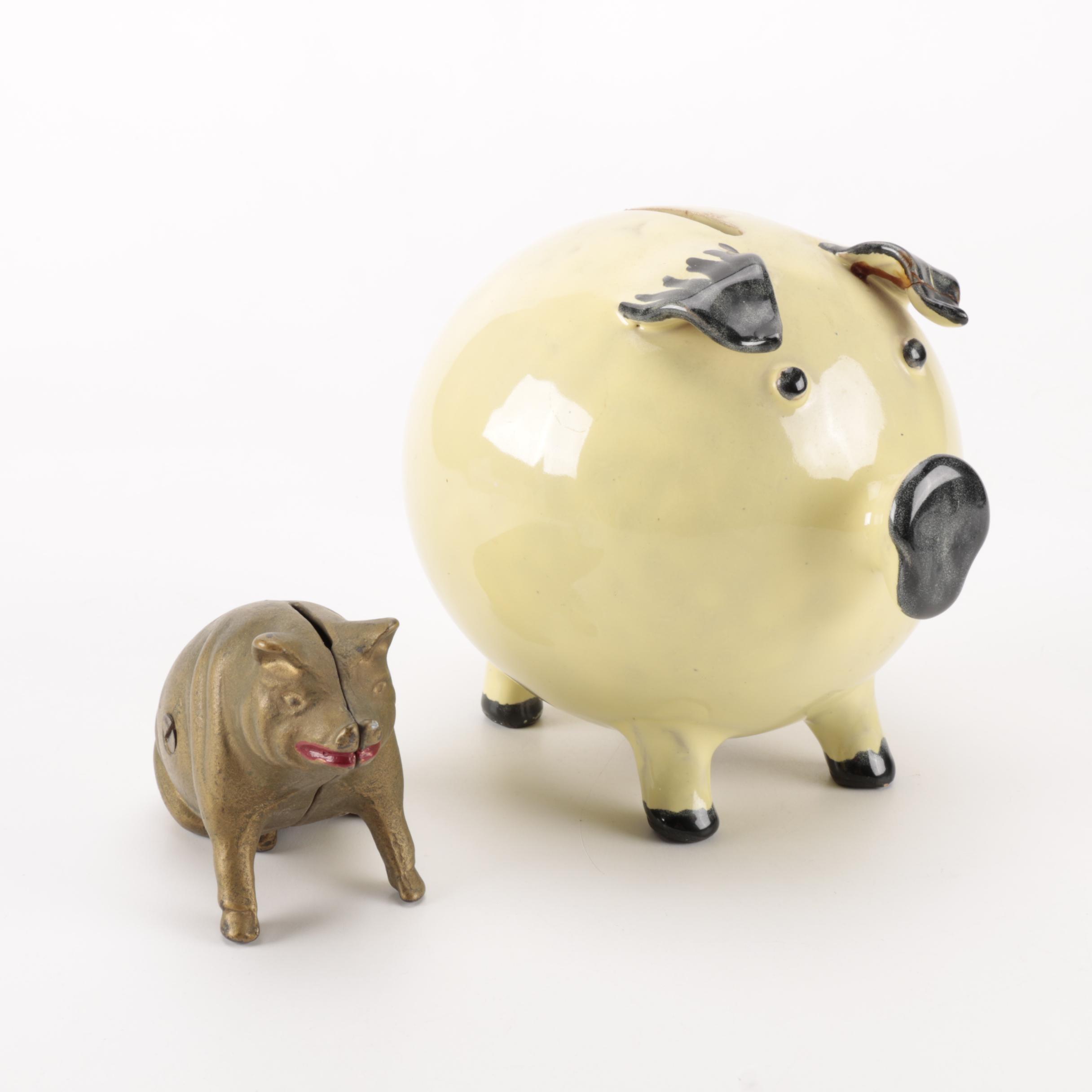 Pair of Piggy Banks