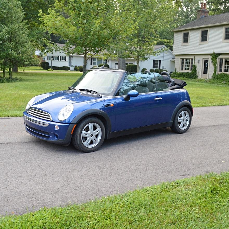 2007 mini cooper convertible ebth. Black Bedroom Furniture Sets. Home Design Ideas