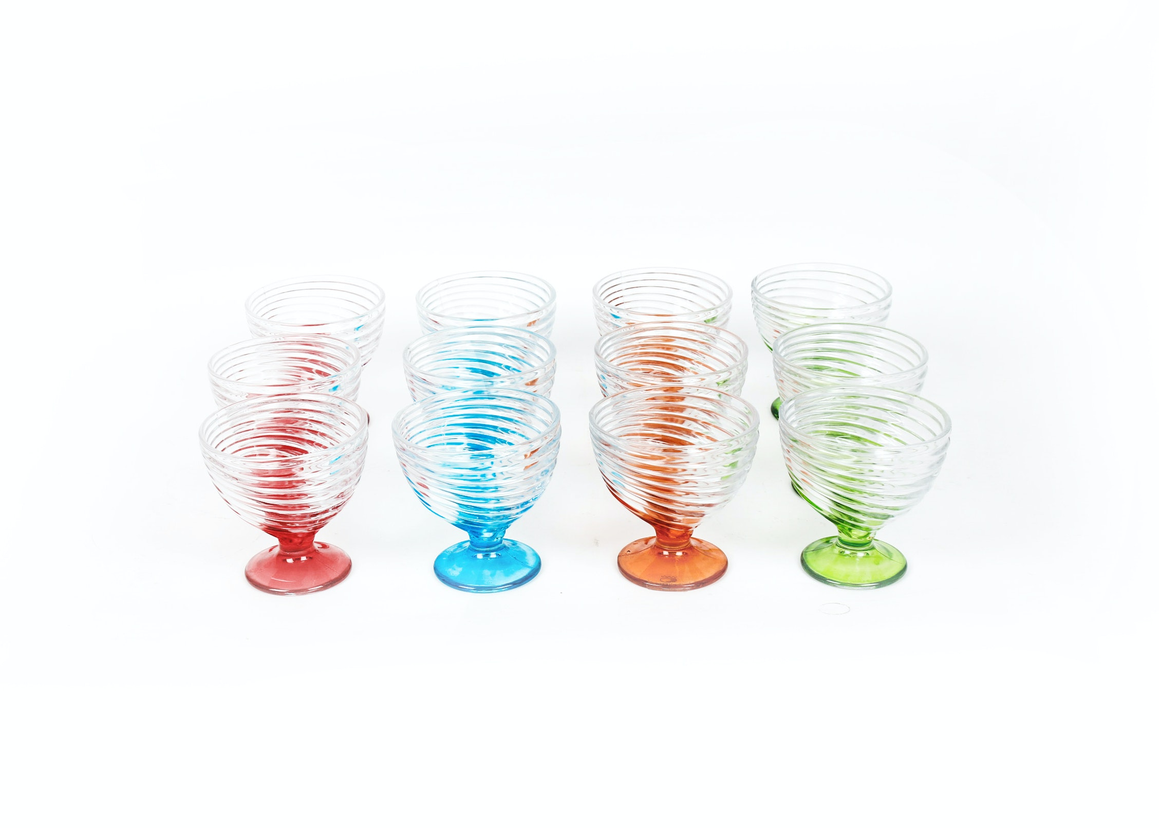 Collection of Brightly Toned Glassware