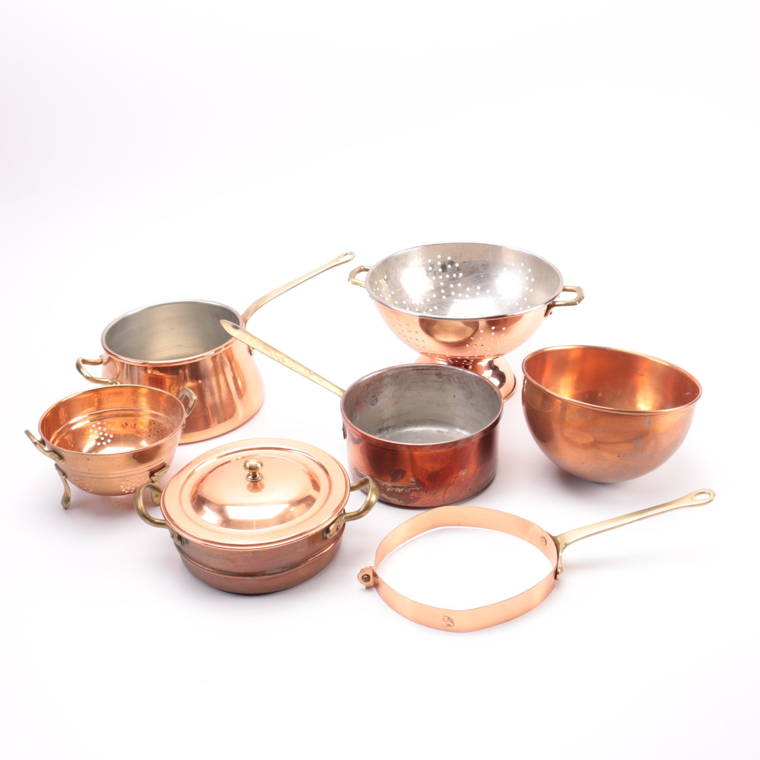 Assorted Copper Kitchenalia