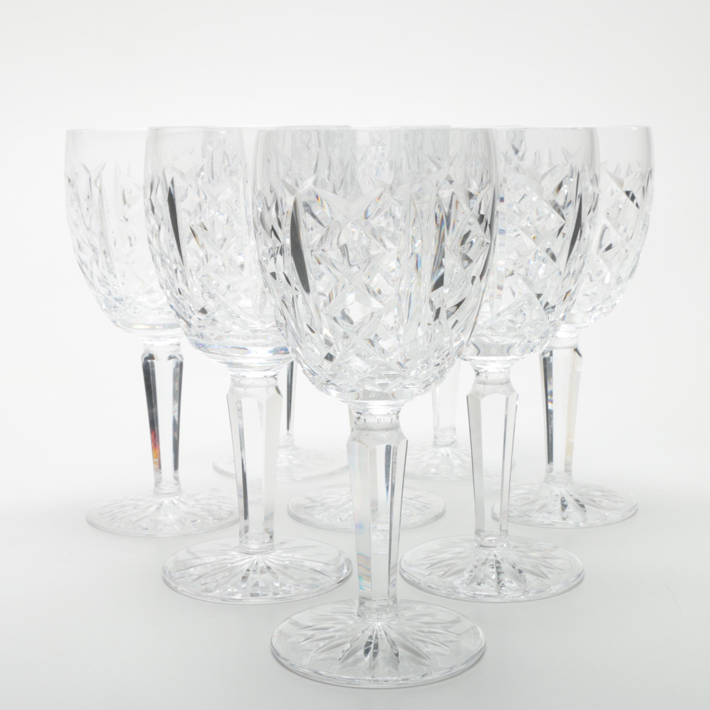 "Waterford Crystal ""Glengarriff"" Goblets"