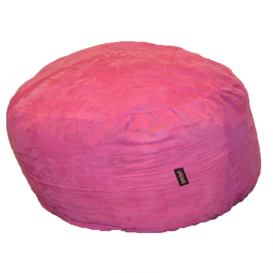 Corda Roy S Pink Convertible Bean Bag Chair And Bed Ebth