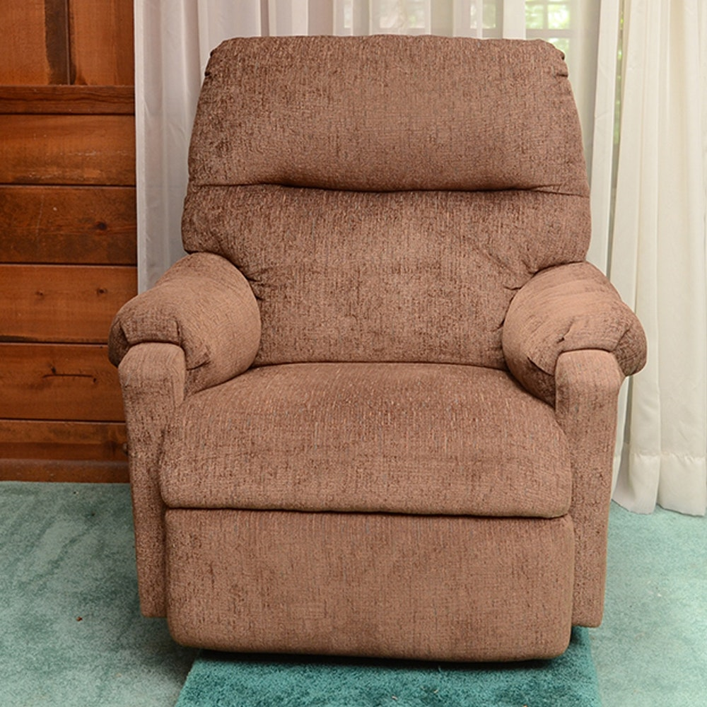 Brown Upholstered Recliner
