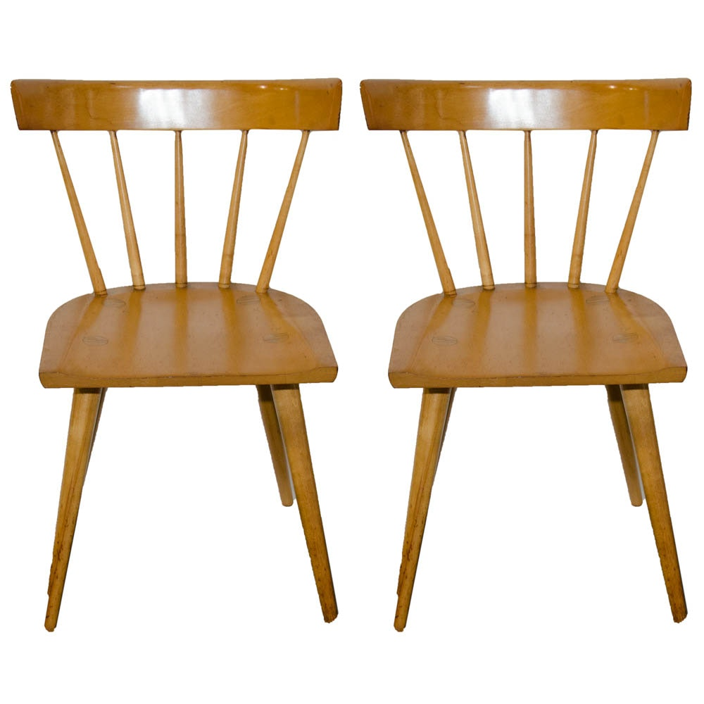"""Mid Century Modern """"Planner Group"""" Chairs by Paul McCobb"""
