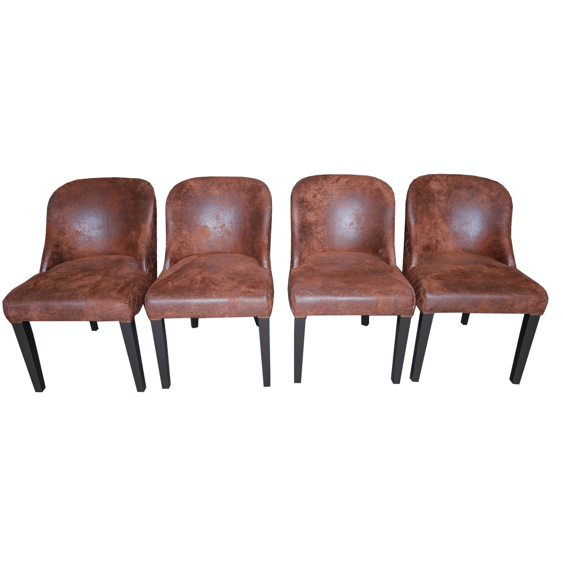"Set of ""Renley"" Upholstered Accent Chairs by Blink Home"