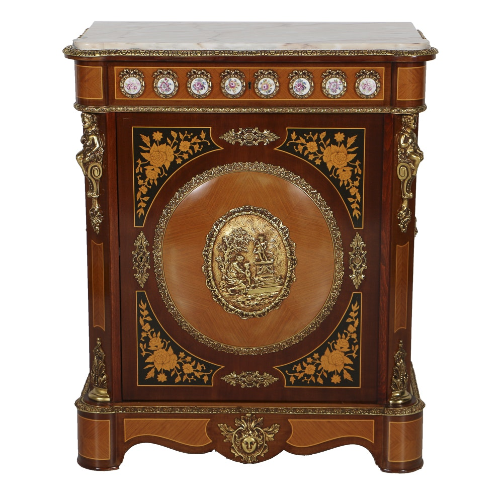 Mariner Furniture French Style Marble Top Chest