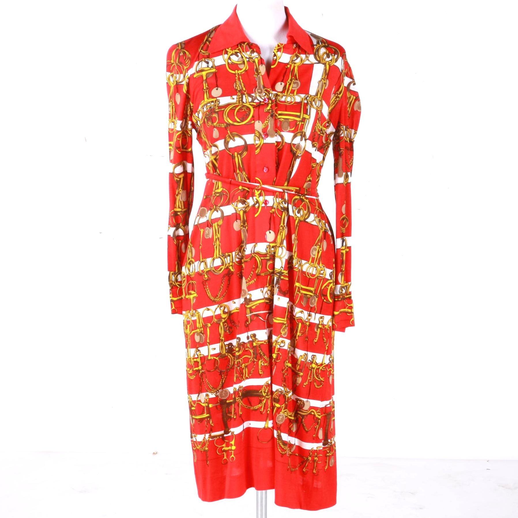 Hermès Equestrian Shirt Dress