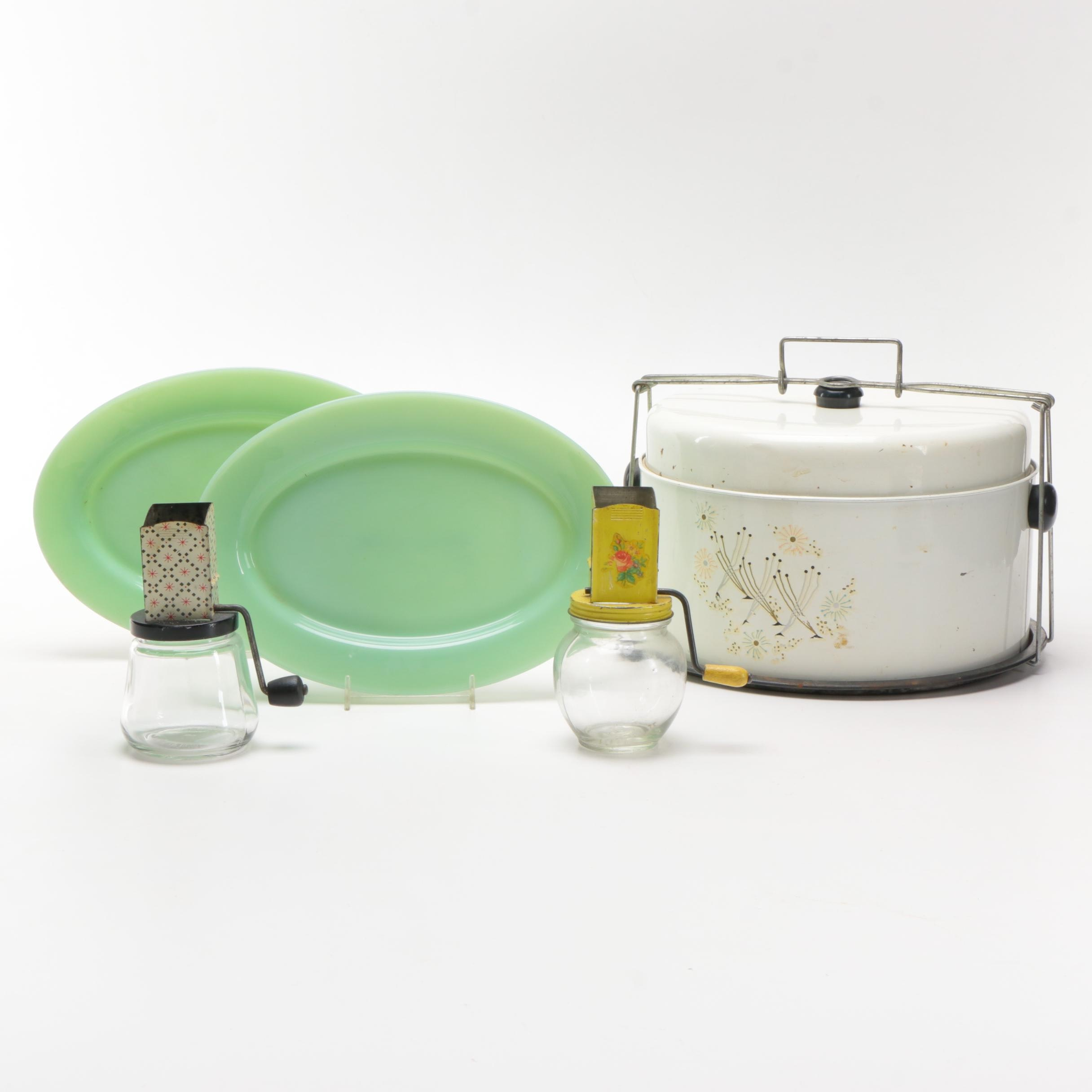 Kitchenware Featuring Fire King