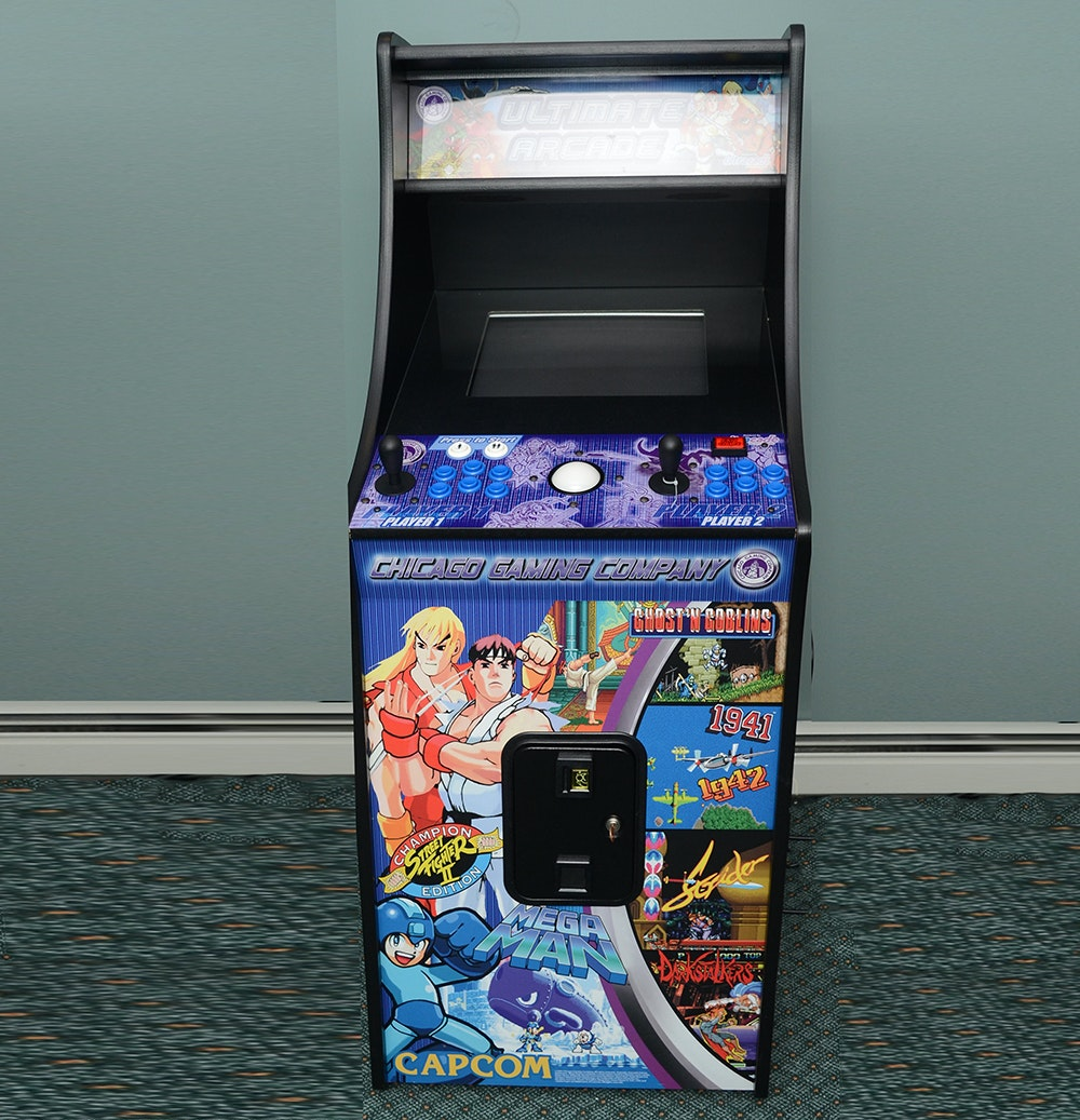 "Chicago Gaming Company ""Ultimate Arcade"" Upright Console"