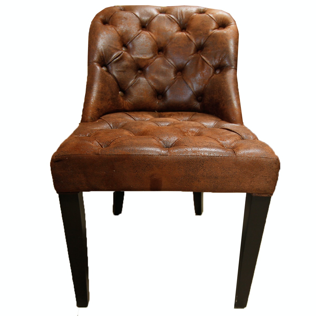 "Blink Faux Leather ""Downtown"" Side Chair"