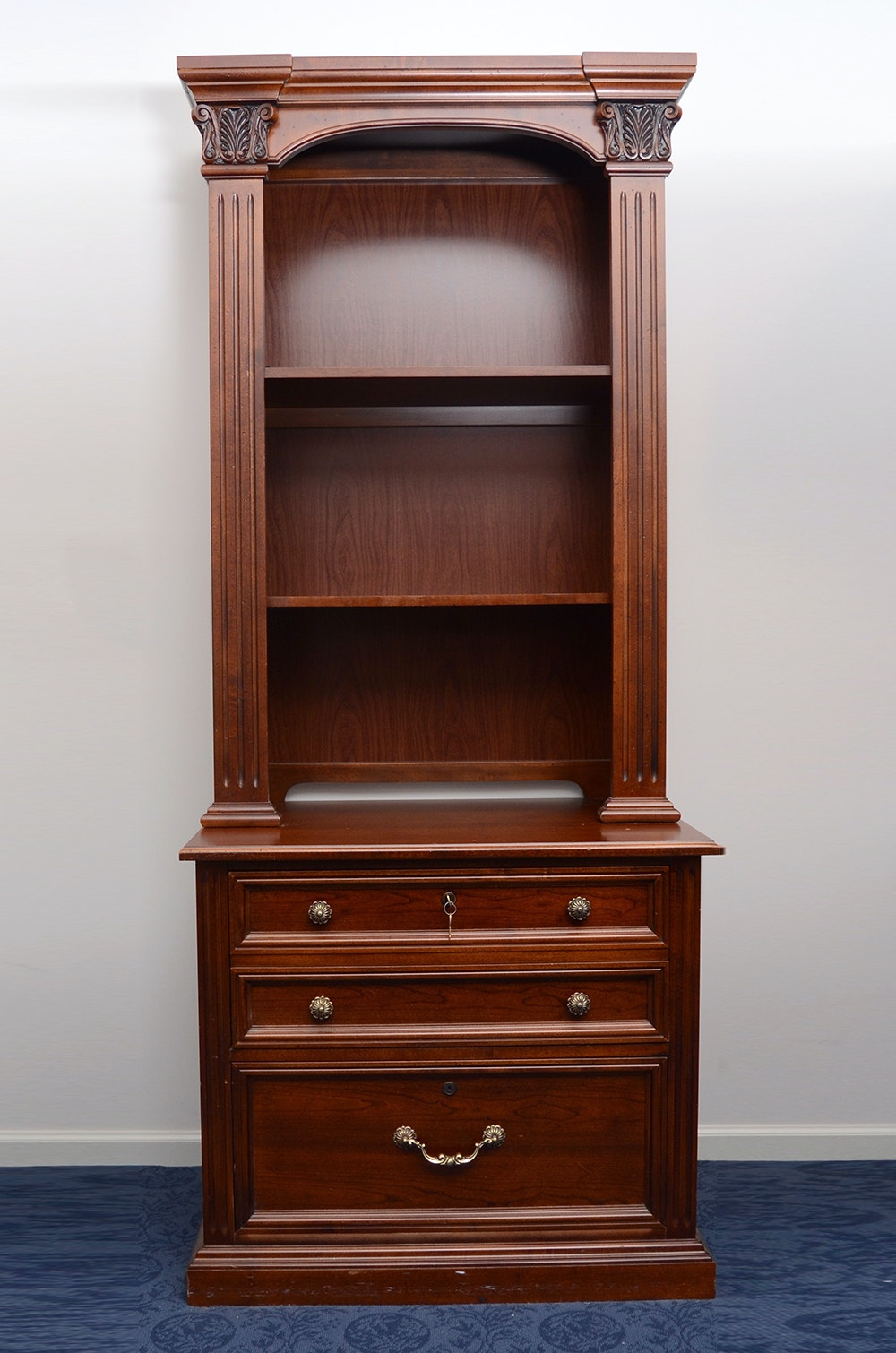 Stanley Furniture Bookcase Cabinet ...