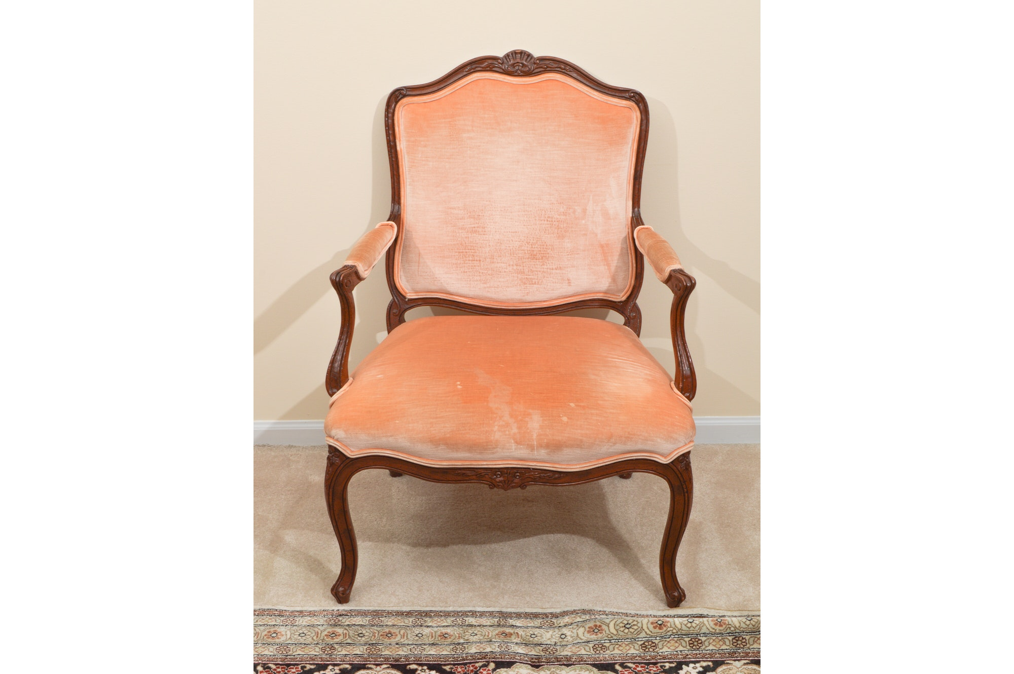 Schoonbeck Company Louis XV Style Armchair ...