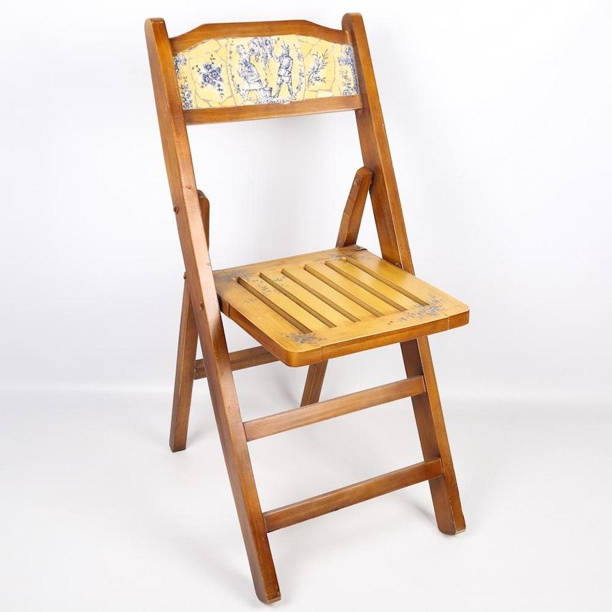 decorative folding chair ebth