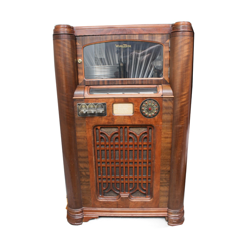 Wurlitzer Simplex Multi-Selector Phonograph Jukebox