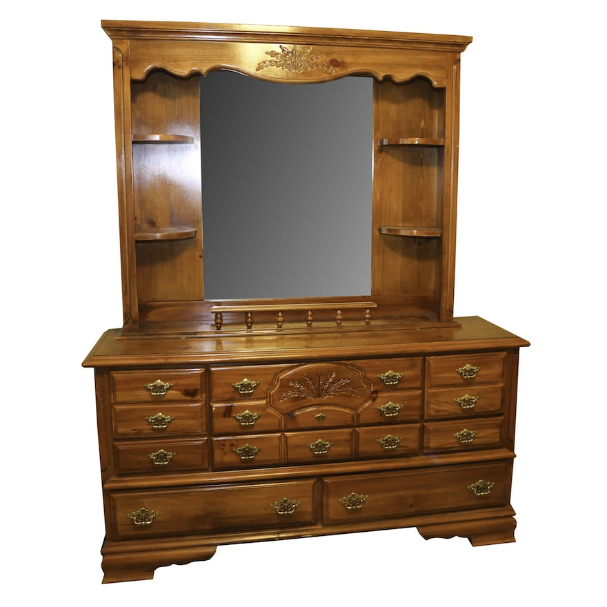 Webb Furniture Dresser With Mirror