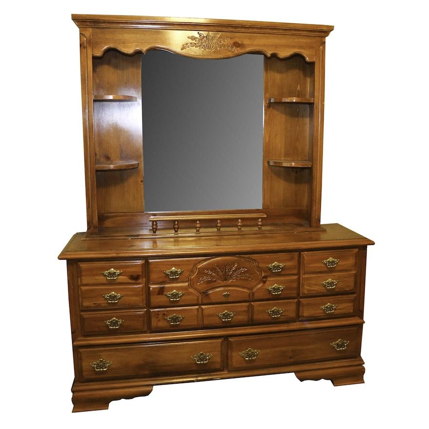 Webb Furniture Dresser With Mirror Ebth