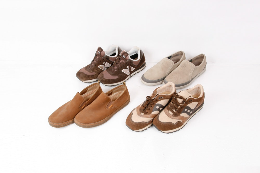 Four Pairs of Mens Shoes Size 10.00 - 11.00