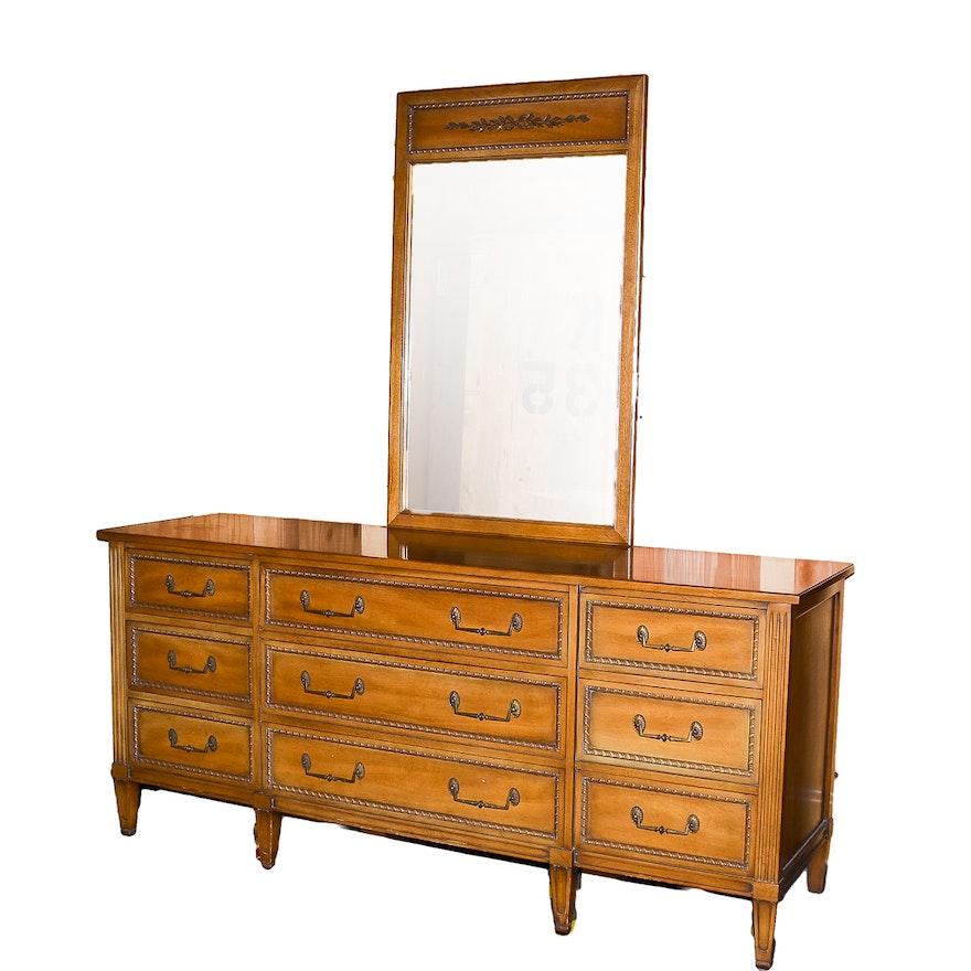 Henredon Dresser with Mirror
