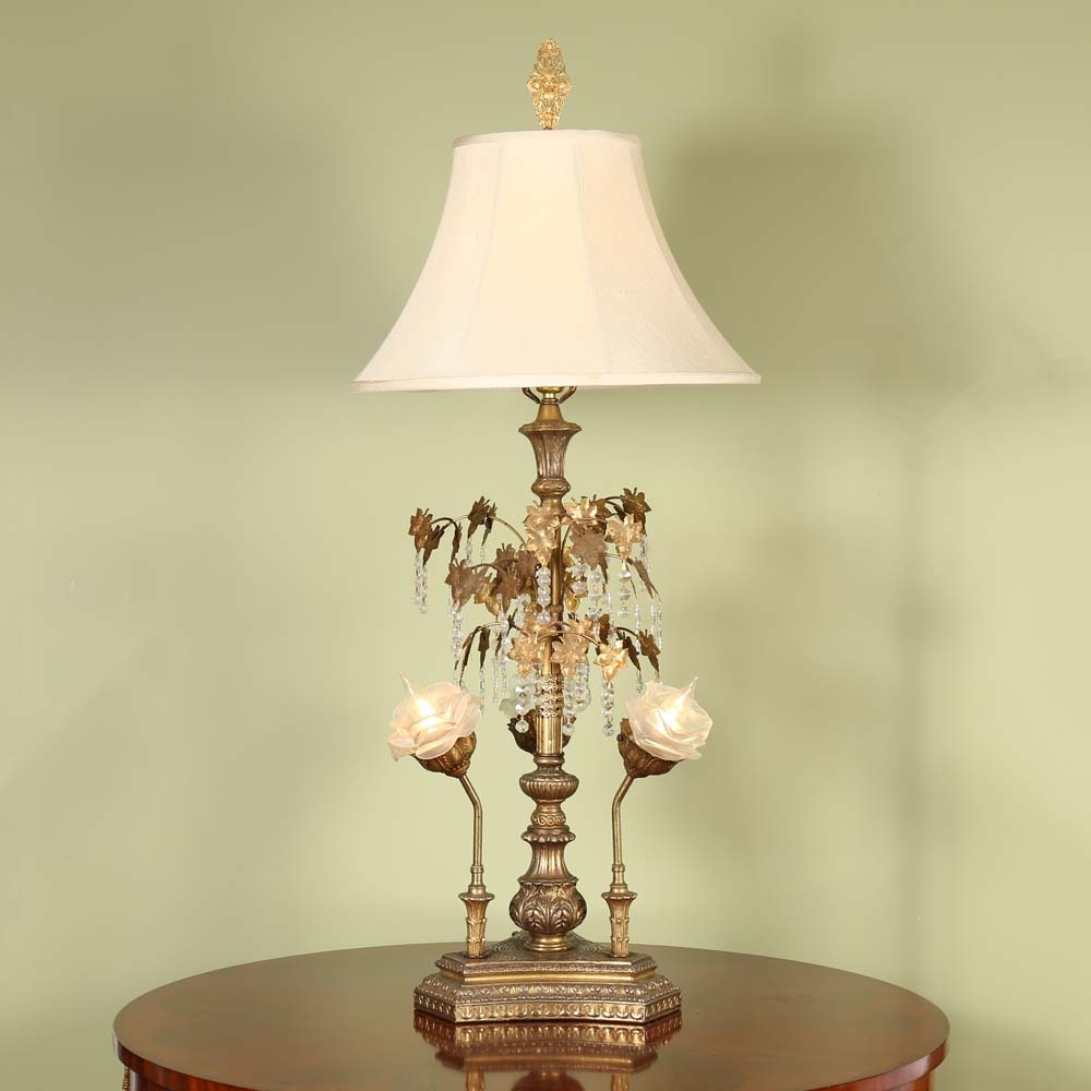 Vintage Baroque Style Parlor Lamp