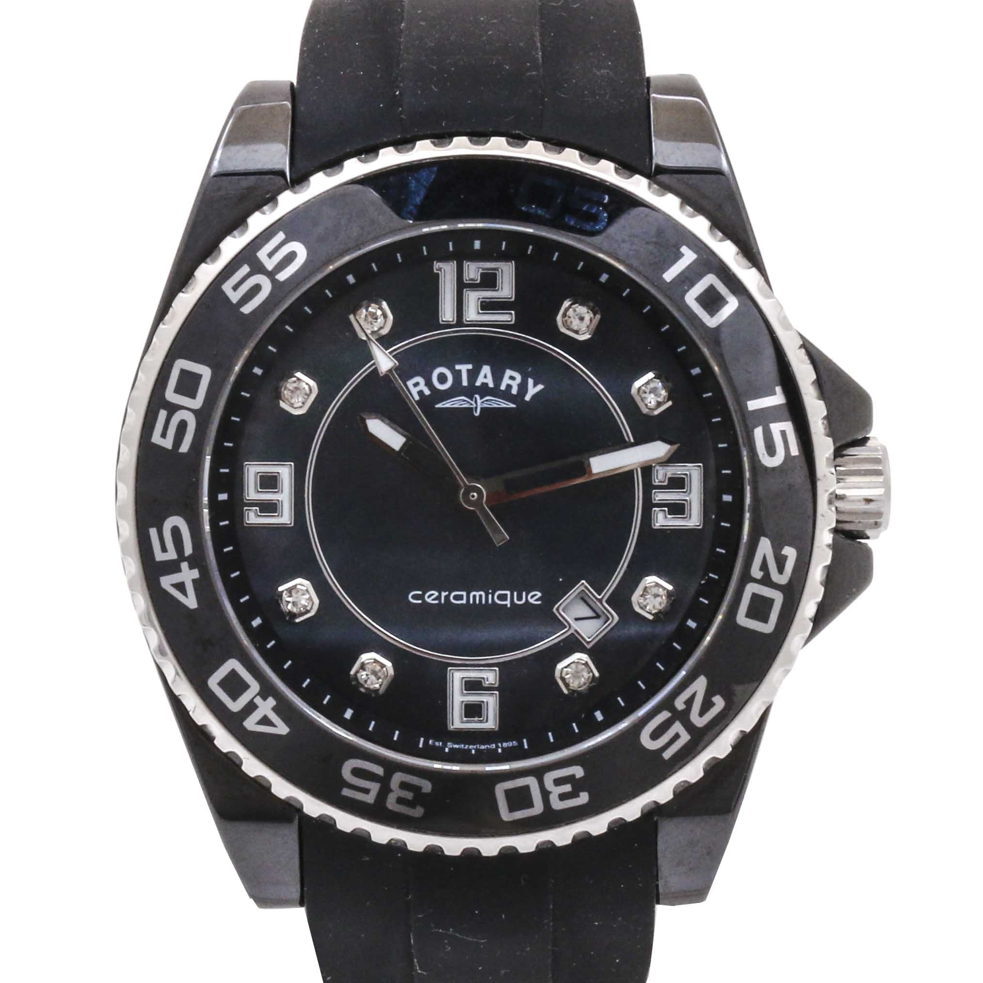 """Rotary """"Ceramique"""" Wristwatch"""