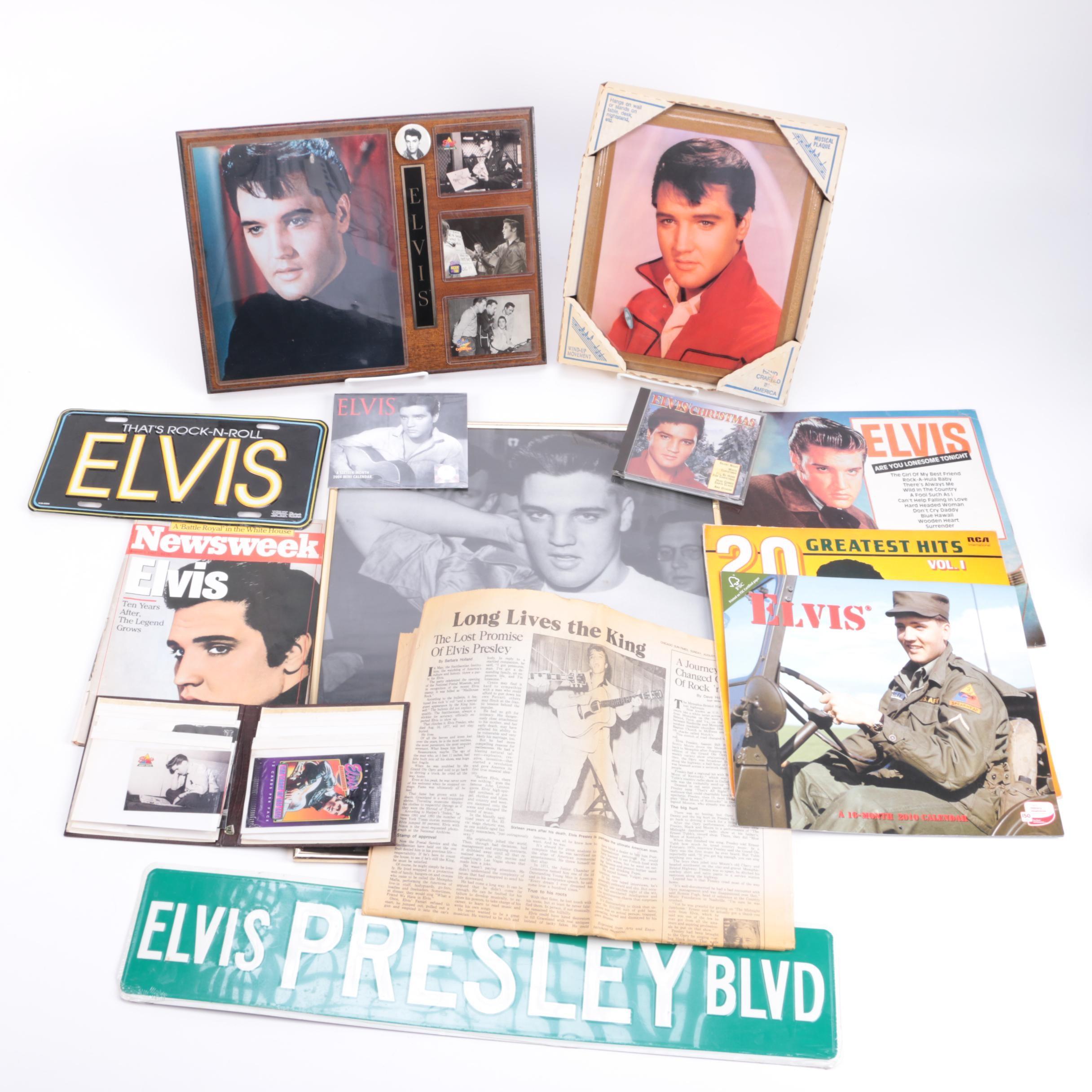 Elvis Presley Fan Collectibles