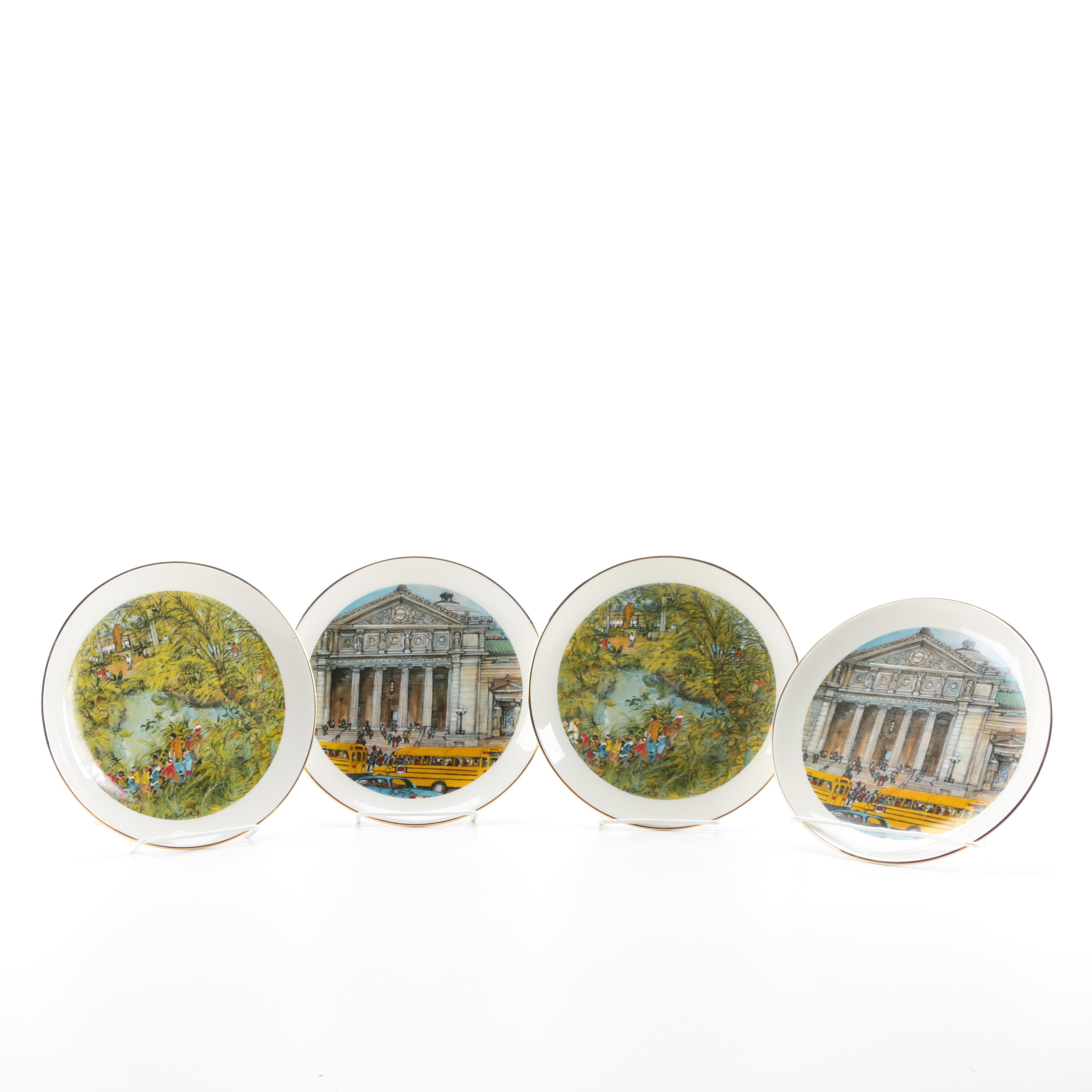 Chicago Collection Franklin McMahon Limited Edition Collectors Plates