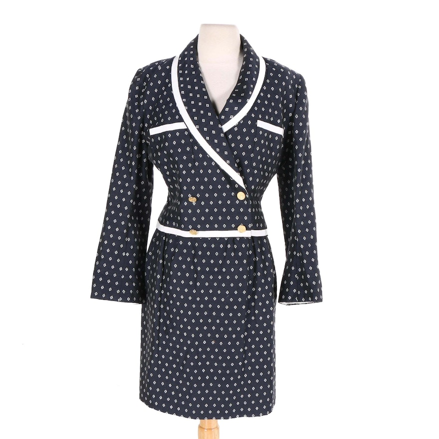 Chanel Boutique Skirt Suit