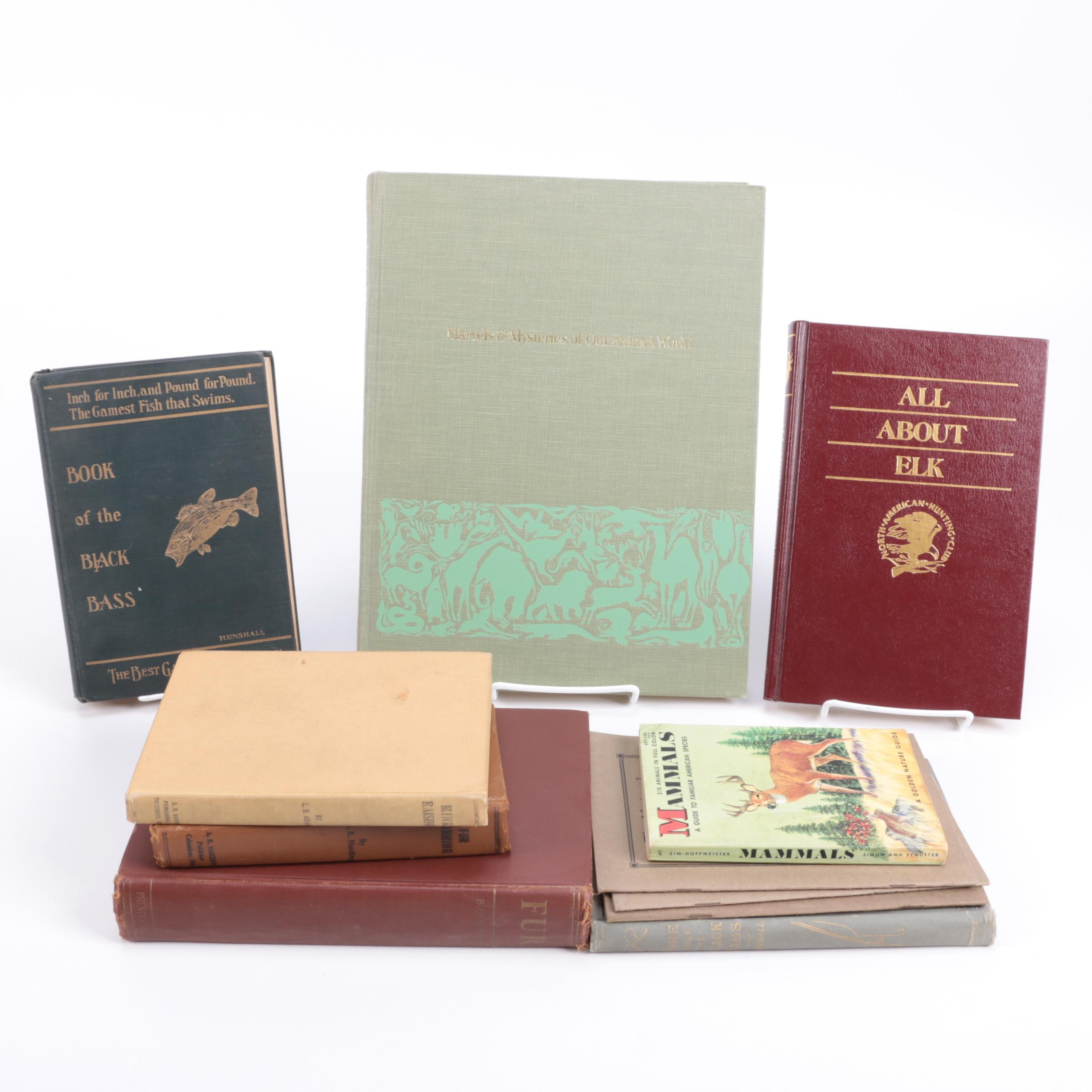 Collection of Books on Wildlife