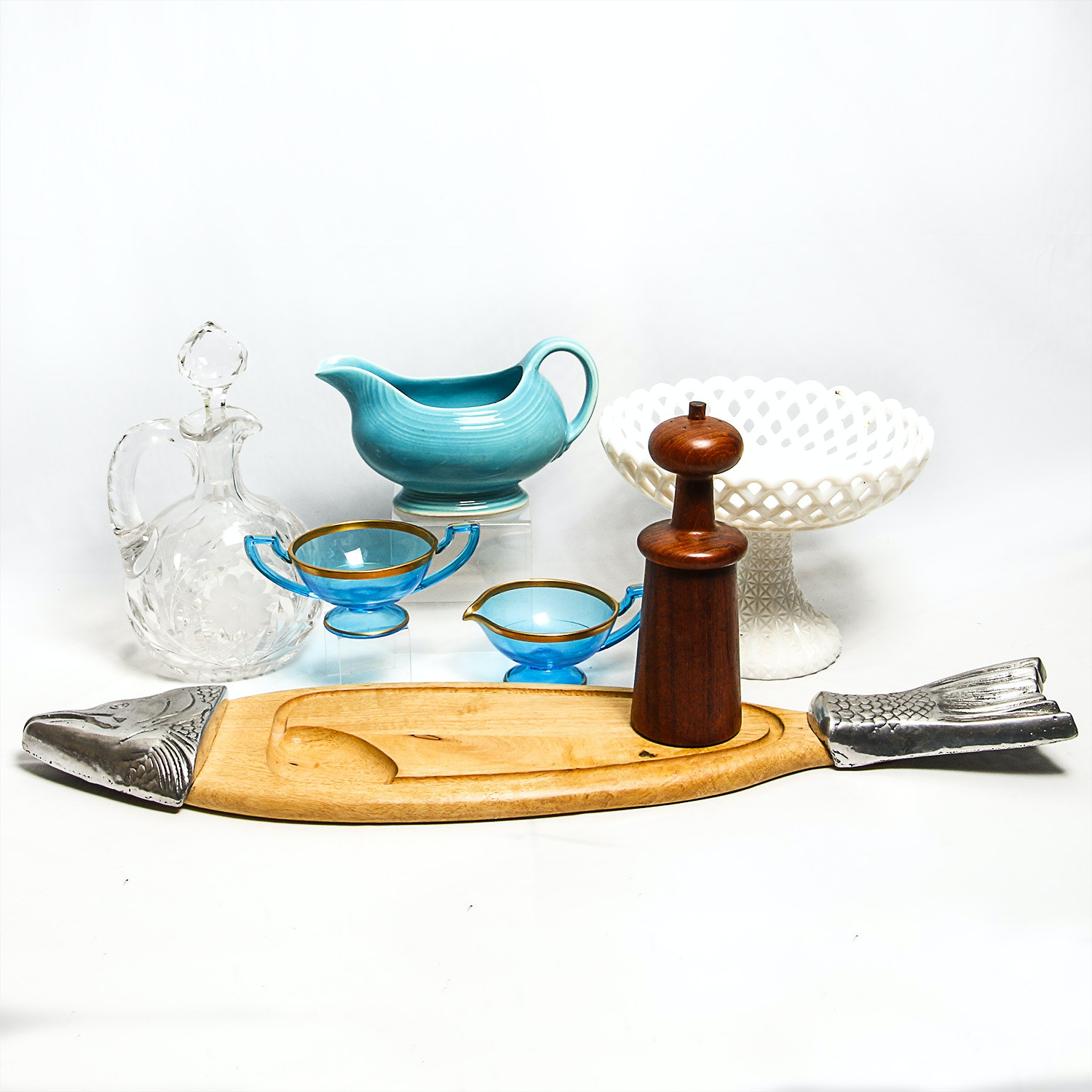 Collection of Vintage Housewares Featuring Fiestaware