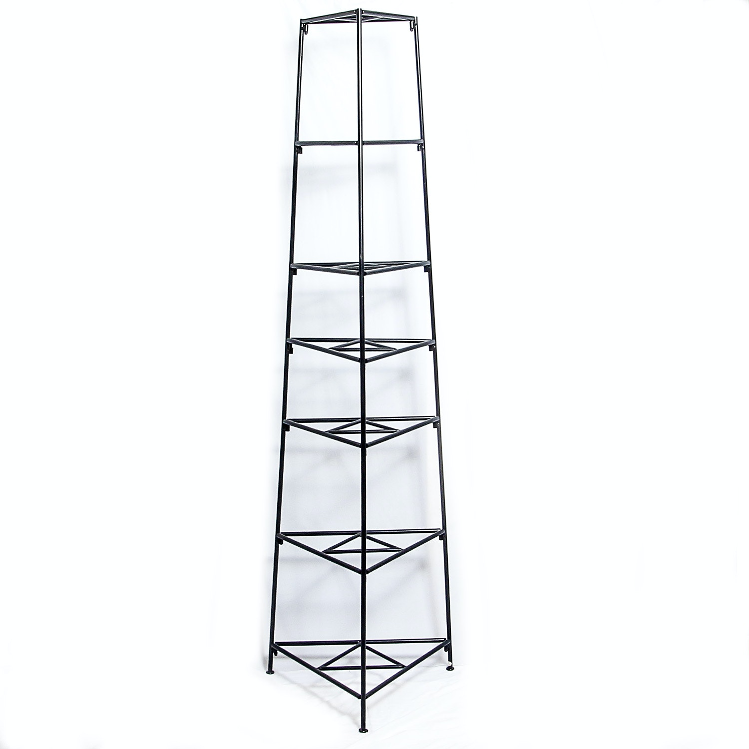 Seven-Tiered Metal Cookware Stand