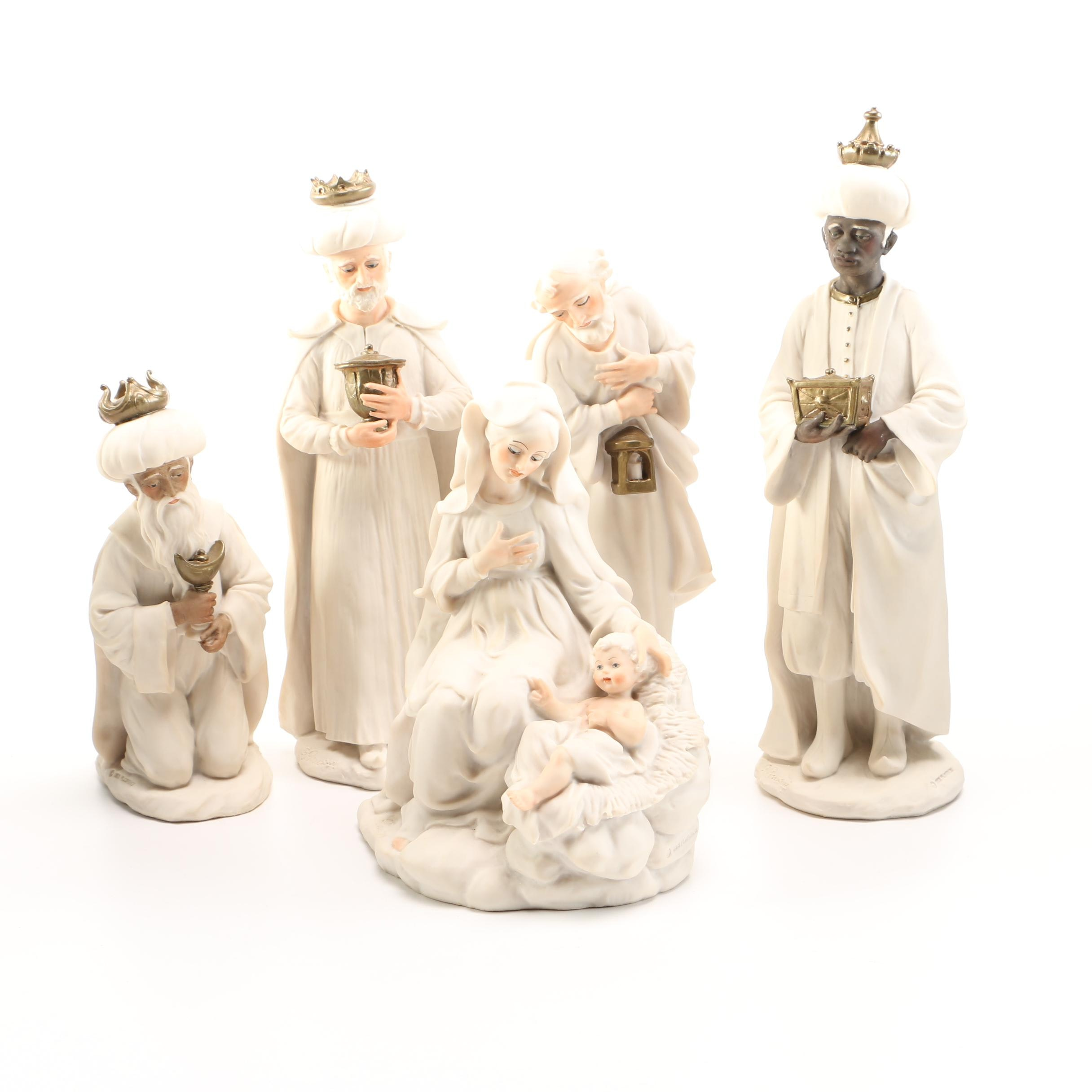 Capodimonte Guiseppe Armani Nativity Figurines
