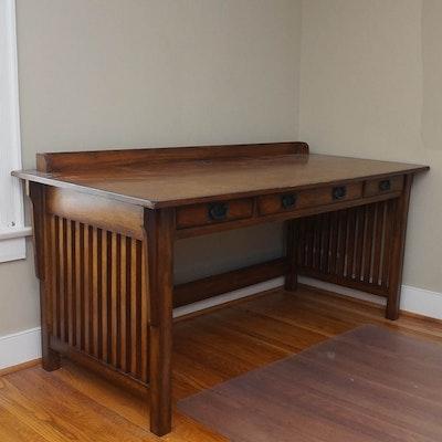 Contemporary Arts and Crafts Style Desk - Vintage Desks, Antique Desks And Used Desks Auction In Louisville