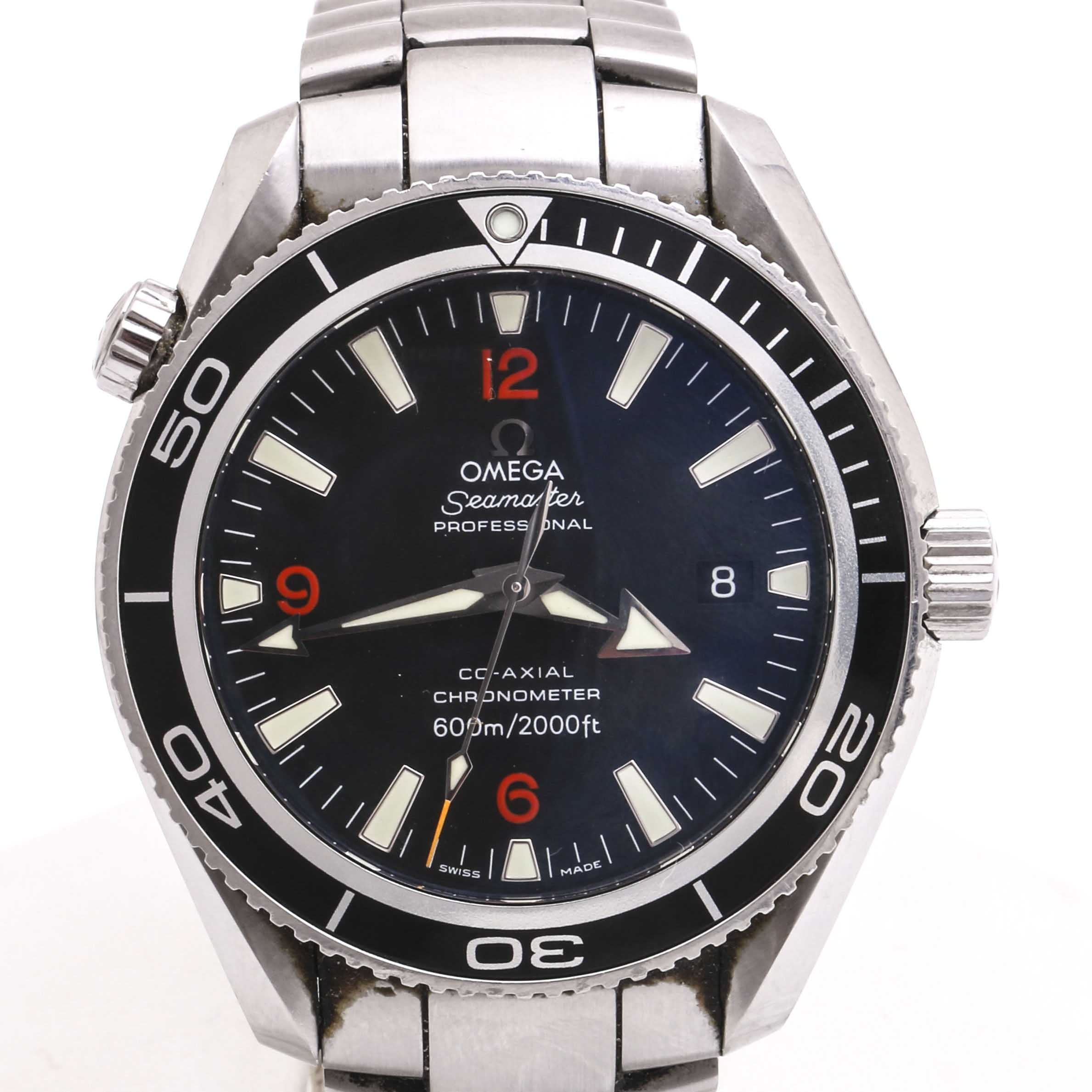 Omega Seamaster Professional Stainless Steel Wristwatch