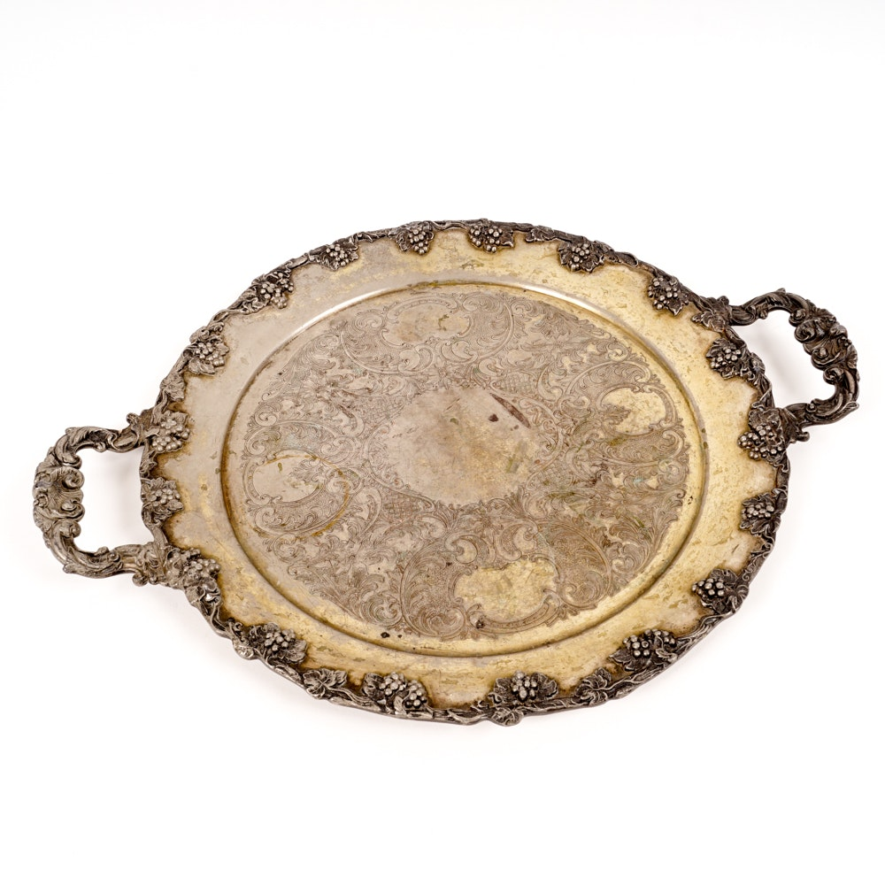 Sheffield Reproduction Serving Tray