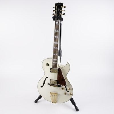 Gibson Custom Shop L-4 10th Anniversary Diamond White Sparkle Guitar