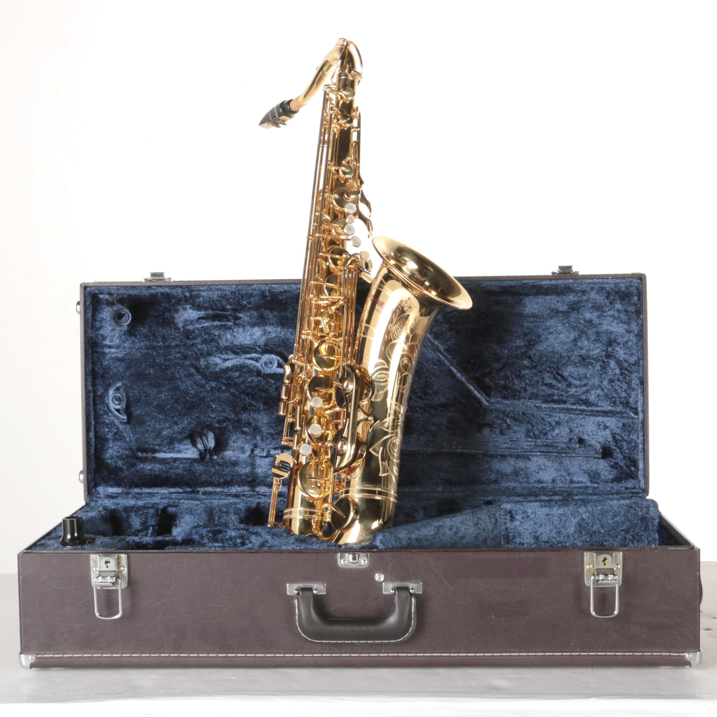Yamaha Tenor Saxophone With Case