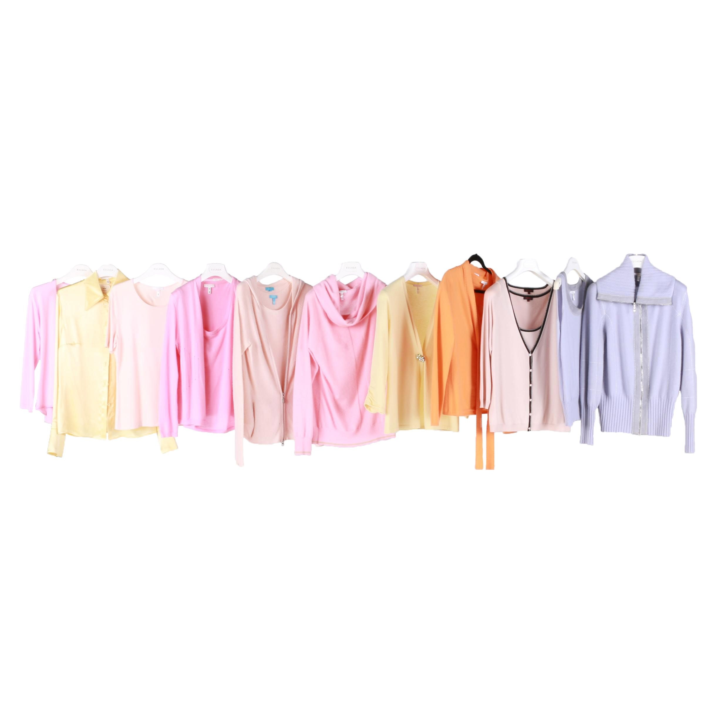 Escada Sweaters, Shells, and Blouses