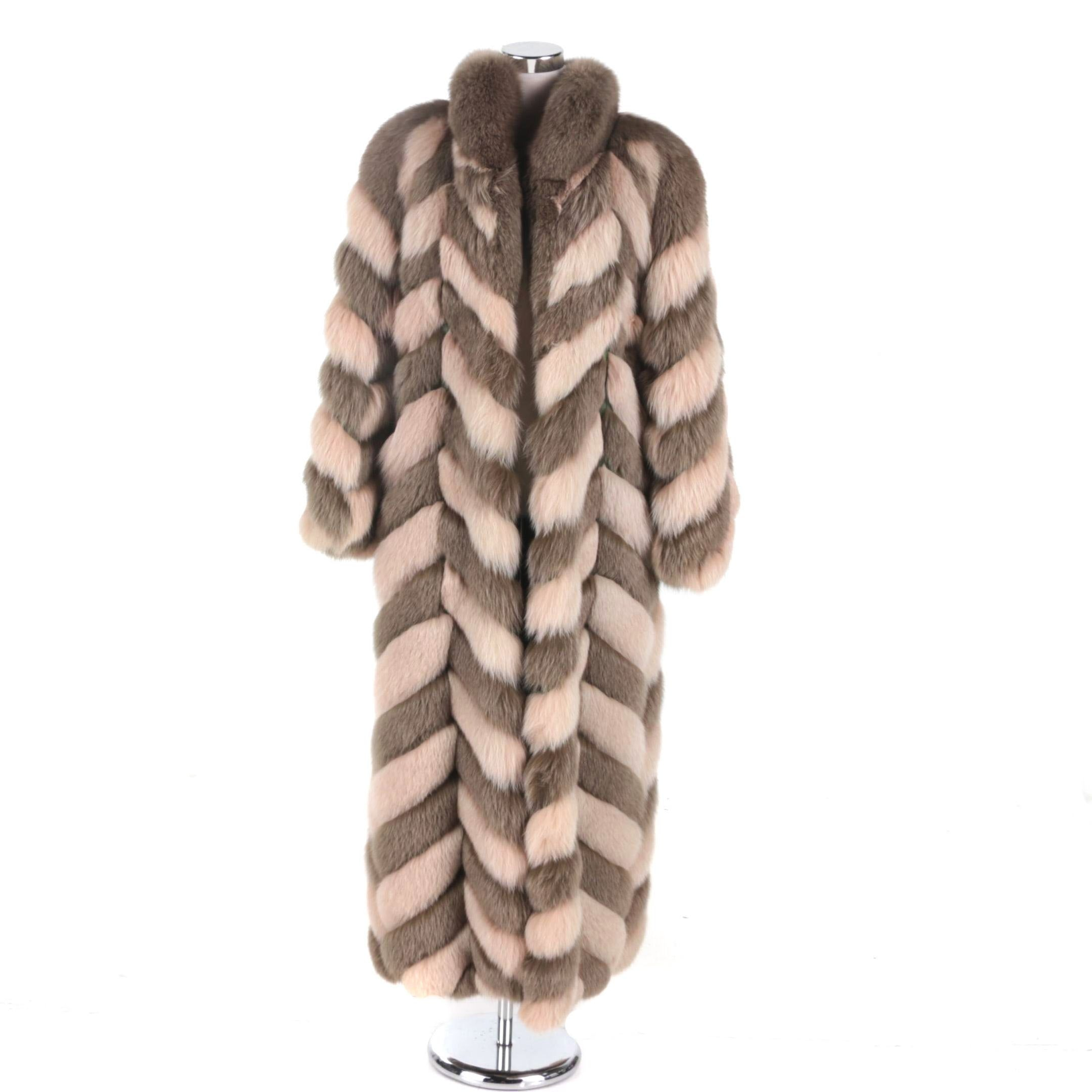 Christian Dior Fox Fur Coat