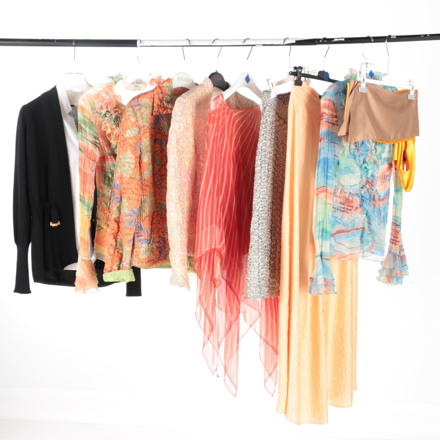 Assorted Evening Wear by Ferragamo, M.K. Solo, Lainey and More