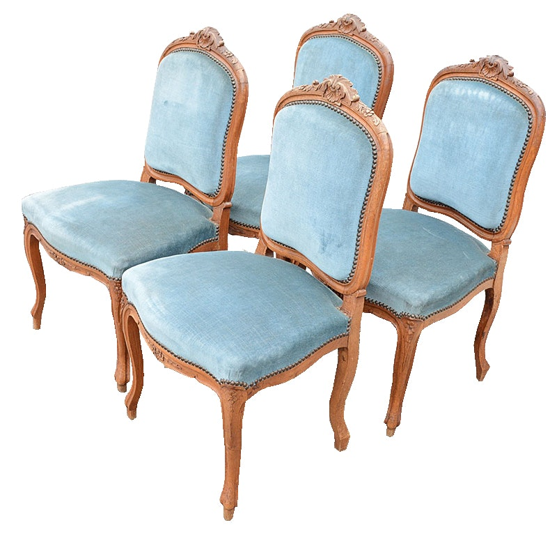 Set of Vintage Louis XV Style Chairs