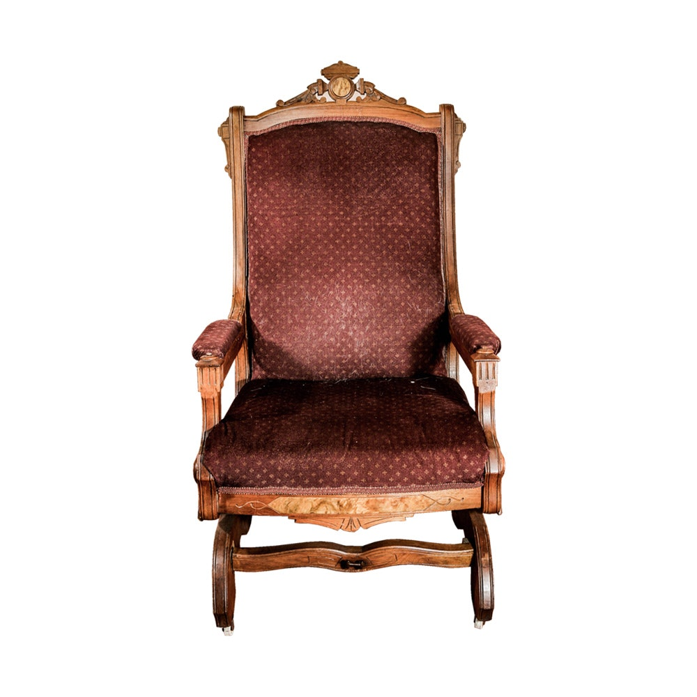 Eastlake Style Rocking Chair