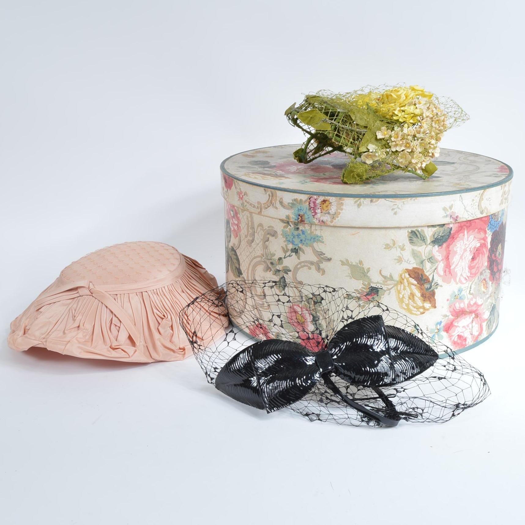 Assortment of Vintage Ladies Hats