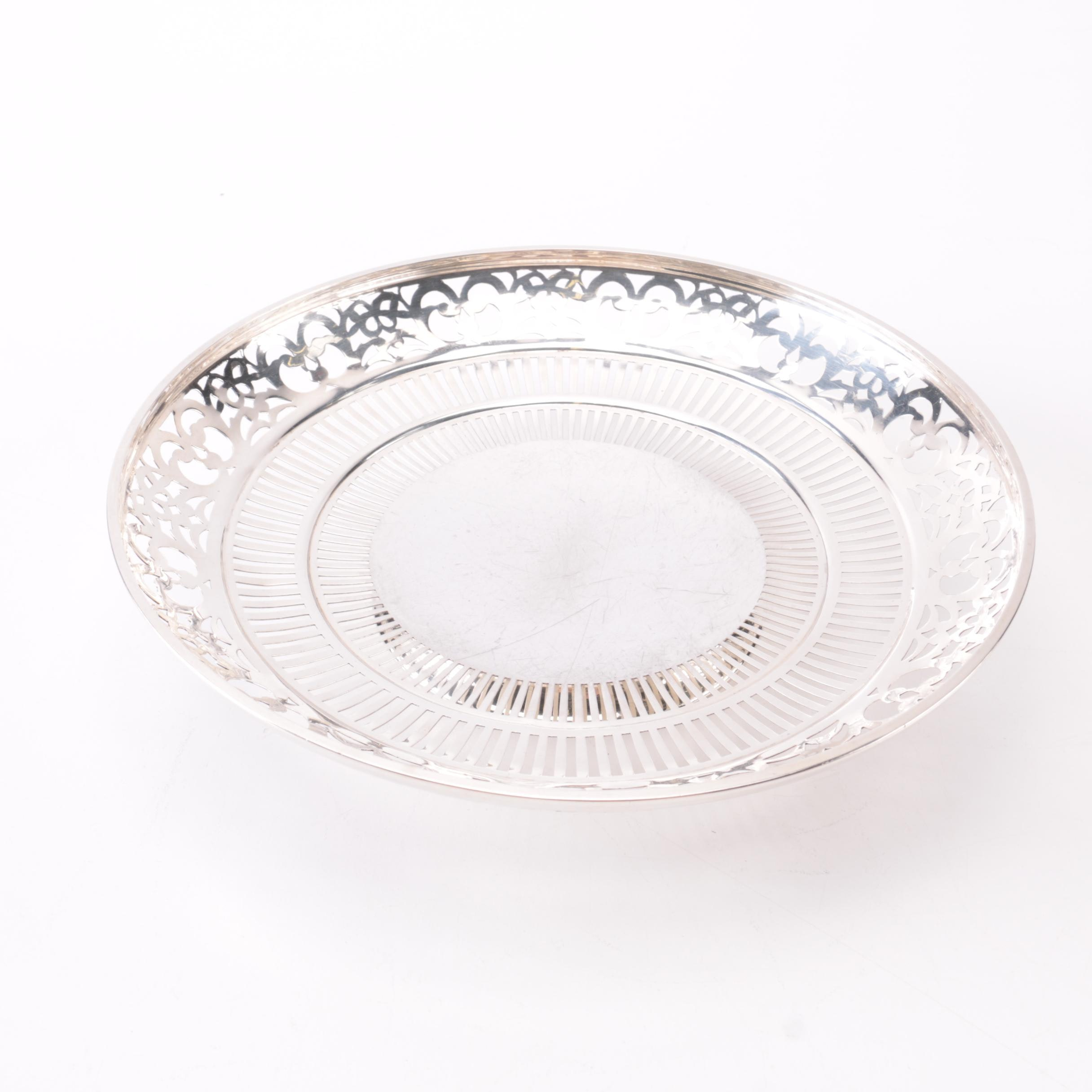 Webster Company Sterling Silver Footed Dish